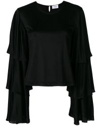 Dondup   Layered Sleeve Blouse   Lyst