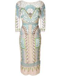 Temperley London - Maze Midi Dress - Lyst
