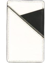 South Lane - White Black Cardholder - Lyst