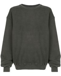 Yeezy - Oversized Crewneck Sweatshirt - Lyst