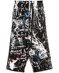 Haculla - Paint Canvas Shorts - Lyst