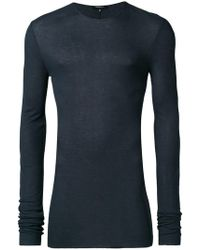 Unconditional - Fine Knit Rib Sweater - Lyst