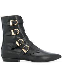 Philosophy Di Lorenzo Serafini - Buckled Mid-calf Boots - Lyst