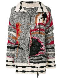Damir Doma - Colour-block Embroidered Jumper - Lyst