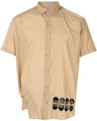 Kolor - Slogan Print Shirt - Lyst