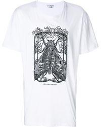 Alexander McQueen - Moth Print T-shirt - Lyst