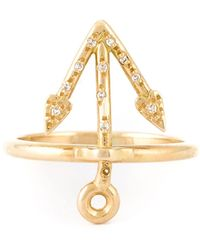 Natasha Zinko Mini Anchor Ring
