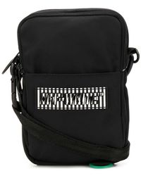 Off-White c/o Virgil Abloh - Mini Rubber Logo Cross Body Messenger Bag - Lyst