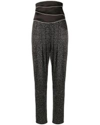 Redemption - High-waisted Rhinestone Trousers - Lyst