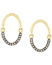 Yannis Sergakis - Brown Diamonds Earrings - Lyst