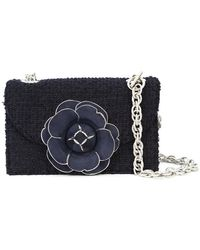 Oscar de la Renta - Floral Boucle Bag - Lyst