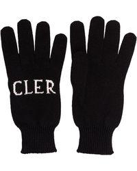 Moncler Intarsia Knit Logo Gloves