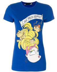 Love Moschino | Bananas T-shirt | Lyst