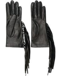 Manokhi - Fringed Fitted Gloves - Lyst