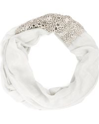 Cutuli Cult - Embellished Cut Out Scarf - Lyst