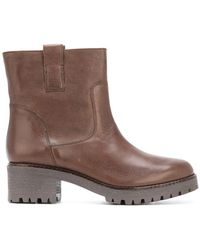 P.A.R.O.S.H. | Pull- Tab Ankle Boots | Lyst