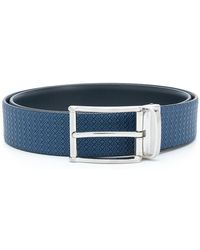 Canali - Reversible Buckled Belt - Lyst