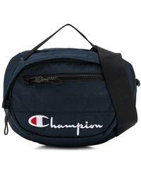 Champion Riñonera con logo - Azul