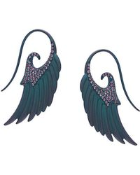 Noor Fares - Angel Wings Earrings - Lyst