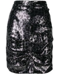 MSGM - Sequin Pencil Skirt - Lyst
