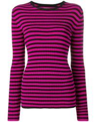 Calvin Klein - Slim Striped Jumper - Lyst