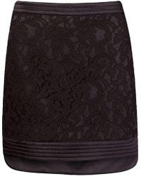 Martha Medeiros - 'marescot' Lace Straight Skirt - Lyst