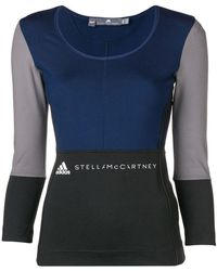 adidas By Stella McCartney - Long-sleeve Fitted T-shirt - Lyst