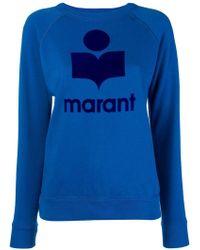 Étoile Isabel Marant - Logo Patch Sweatshirt - Lyst