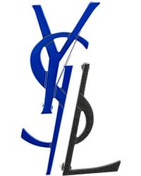 Saint Laurent - Spilla Monogramma - Lyst