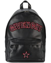 Givenchy - Small Logo Applique Backpack - Lyst