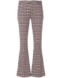 Dondup | Printed Flared Trousers | Lyst