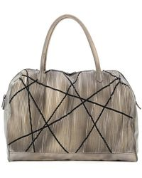 Numero 10 - Large Textured Tote Bag - Lyst