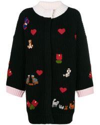 Vivetta - Embroidered Cardi-coat - Lyst