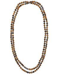 Tateossian Mesh Beaded Necklace
