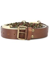 Y. Project - Segment Buckled Belt - Lyst