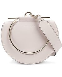 Ferragamo - Round-shaped Giancini Handle Bag - Lyst