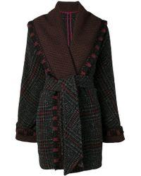 Etro - Belted Cardi-coat - Lyst