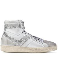 IRO - Sequin Panel Barthyno Sneakers - Lyst