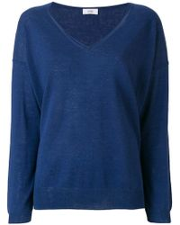 Closed - V-neck Jumper - Lyst