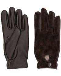 Lardini - Leather Gloves - Lyst
