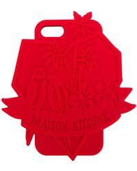 Maison Kitsuné - Tropical Iphone 7 Case - Lyst