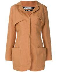 Jacquemus - Longline Blazer Jacket - Lyst