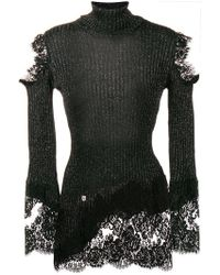 Philipp Plein - Lace Knitted Jumper - Lyst