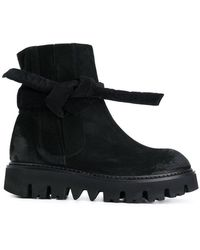 Rundholz - Knot Detail Chunky Sole Boots - Lyst