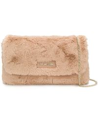 Love Moschino - Faux Fur Crossbody - Lyst