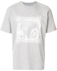 Wooyoungmi - Graphic Print T-shirt - Lyst
