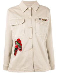 P.A.R.O.S.H. - Sequin Embroidered Jacket - Lyst
