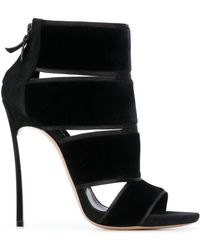 Casadei - Bandage Strap Booties - Lyst