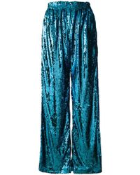 Faith Connexion - Sequin Palazzo Trousers - Lyst