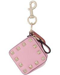 Valentino - Garavani Rockstud Purse Bag Charm - Lyst